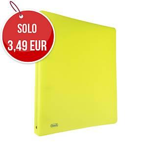 Raccoglitore Favorit Neon PPL 4 anelli 30 mm giallo