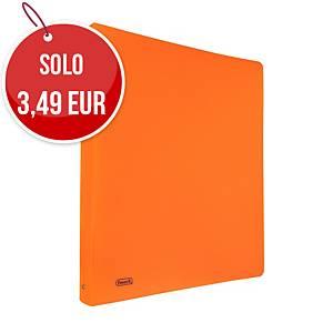 Raccoglitore Favorit Neon PPL 4 anelli 30 mm arancione