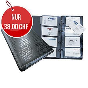Visitenkartenhüllen Durable 238719 57x90 mm, Beutel à 10 Stück