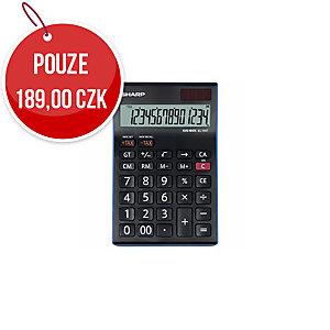 Stolní kalkulačka Sharp EL-145T, 14místný LCD displej