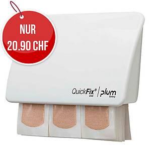 Pflasterspender Plum Quickfix Uno 5532, weiss, 45 Stück