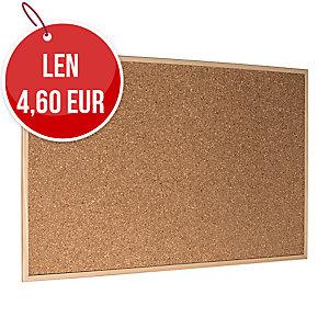 Korková tabuľa Economy 60 x 40 cm