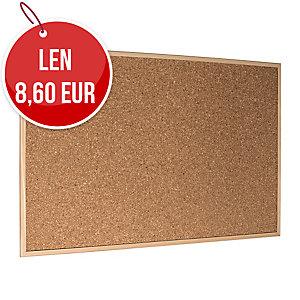 Korková tabuľa Economy 90 x 60 cm