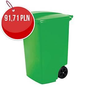 Pojemnik CURVER na odpady 100 l do segregacji śmieci, zielony
