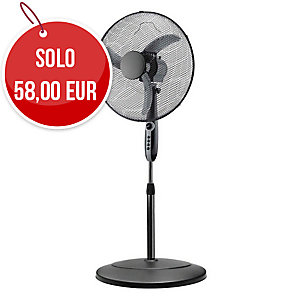 VENTILATORE A PIANTANA BLACK 45 NERO