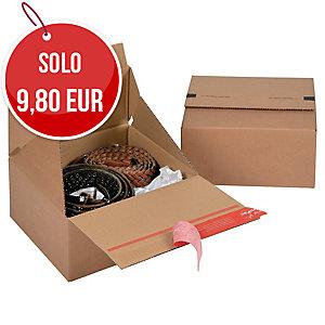 SCATOLA DA IMBALLO EUROBOX COLOMPAC 200X200X100MM CONF. 10