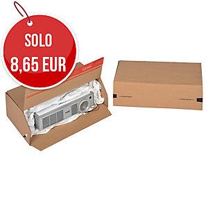 SCATOLA DA IMBALLO EUROBOX COLOMPAC 300X100X150MM CONF. 10