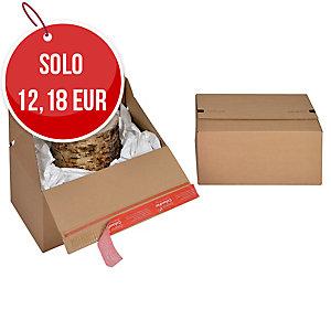 SCATOLA DA IMBALLO EUROBOX COLOMPAC 300X200X150MM CONF. 10