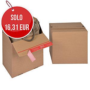 SCATOLA DA IMBALLO EUROBOX COLOMPAC 300X200X300MM CONF. 10