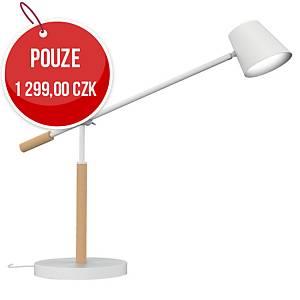 Stolní LED lampa Unilux Vicky, buk