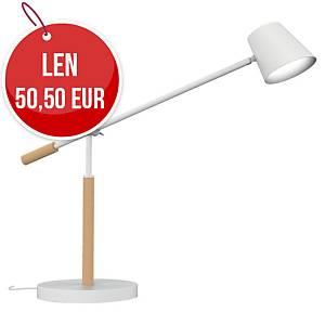 Stolová LED lampa Unilux Vicky, buk