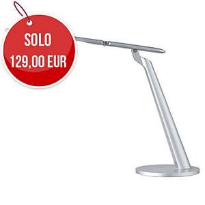 Lampada da tavolo led Aluminor Sigma argento