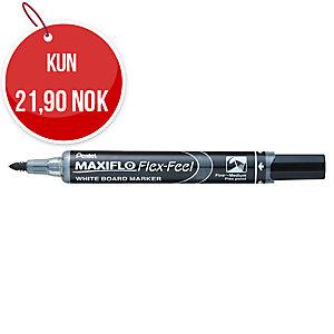 Whiteboardpenn Pentel Maxiflo Flex-Feel, sort