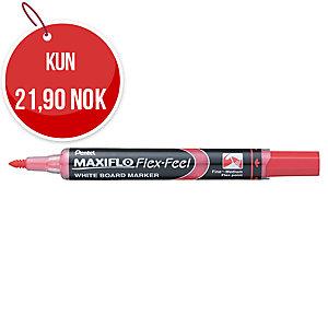 Whiteboardpenn Pentel Maxiflo Flex-Feel, rød