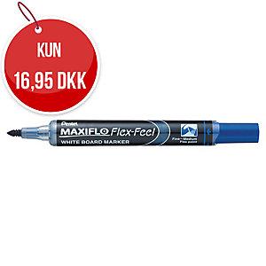 Whiteboardmarker Pentel Maxiflo Flex-Feel, blå
