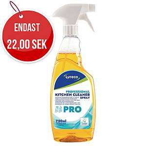 Köksrengöring Lyreco Pro, spray, 750ml