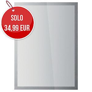 Cornice magnetica auto-fissante Duraframe Sun Durable A3 argento conf. 2