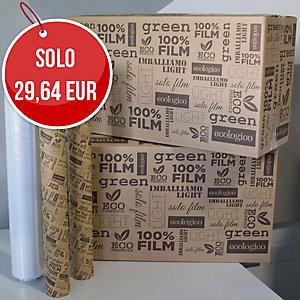 FILM ESTENSIBILE LLDPE MANUALE LIGHT BIESSE TRASPARENTE 23 MICRON