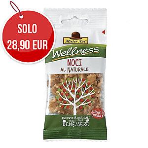 Snack frutta secca sgusciata noci Mister Nut in busta 25 g - conf. 24
