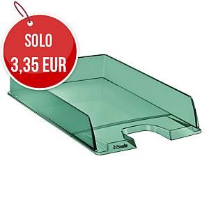 Vaschetta portacorrispondenza Esselte Color Ice polistirene verde trasparente