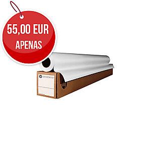 Rolo de papel revestido HP 36 Largo: 914 mm, 45,7m. 90g/m2,