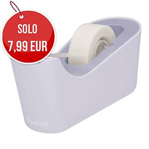 Dispenser pesante Scotch®C18 lavanda + 1 nastro adesivo Scotch®Magic™810