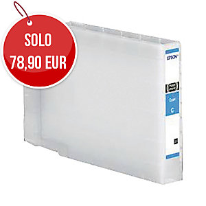 Cartuccia inkjet Epson C13T04B240 XL 4600 pag ciano