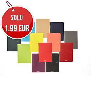 Quaderno Fabriano Ecoqua Maxi A4 righe colori assortiti