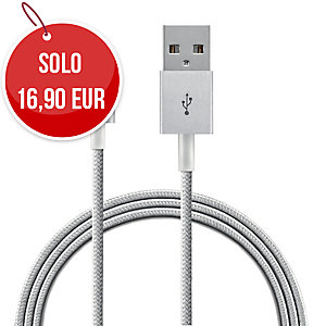 Cavo da lightning a USB Leitz Complete intrecciato 1 m