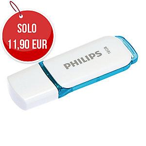 Memoria USB Philips Snow 16 GB 2.0 blu