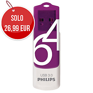 CHIAVETTA USB PHILIPS VIVID 3.0 64GB