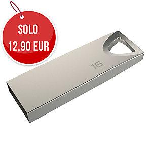 MEMORIA USB 2.0 MINI METAL EMTEC 16 GB