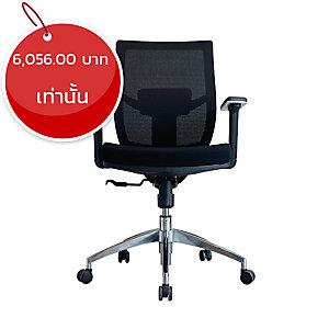 ELEMENTS เก้าอี้ผู้บริหาร รุ่น PRATO EM-209D ผ้า สีดำ