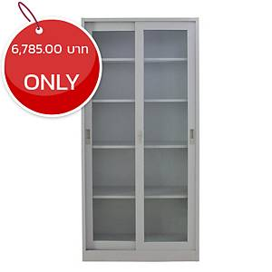 METAL PRO MET-YB02 G Series Steel Slide Mirror Door Cabinet