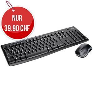 Tastatur Logitech Combo MK270, QWERTZ Tastatur, wireless