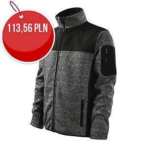 Bluza softshell MALFINI PREMIUM Casual 550, szara, rozmiar S