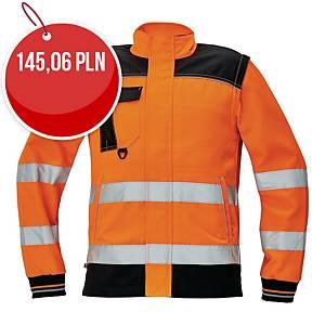 Bluza ostrzegawcza CERVA Knoxfield HI-VIS, pomarańczowa, rozmiar 60