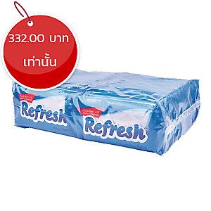 REFRESH ผ้าเย็นทำความสะอาด แพ็ค 30 ซอง