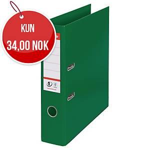 Brevordner Esselte No.1, A4, 7,5 cm, grønn