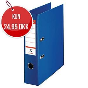 Brevordner Esselte No.1, A4, 7,5 cm, blå