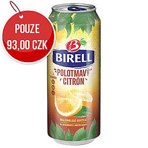 Nealko Pivo Birell, polotmavý citron, 0,5 l, 4 ks