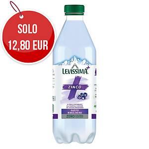 Acqua minerale naturale Levissima Pro Active con Zinco 60 cl - conf. 12