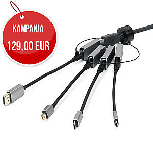 Vivolink Pro HDMI + USB-C -adapterirengas