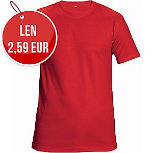 Tričko ČERVA TEESTA, veľkosť 2XL, červené