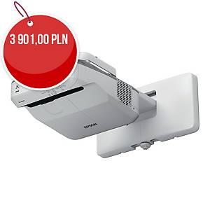 Projektor multimedialny XGA EPSON EB-680 z UCHWYTEM ŚCIENNYM