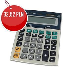 Kalkulator nabiurkowy VECTOR CD-2459, 12-pozycyjny