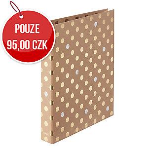 2-kroužkový pořadač Herlitz maX.file A4, 2,5 cm, Pure Glam