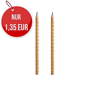 Herlitz Pure Glam Bleistifte, 2 Stück, bruchsichere Graphitmine