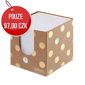 Kostka Herlitz Pure Glam 9 x 9 x 9 cm, kartonová krabička