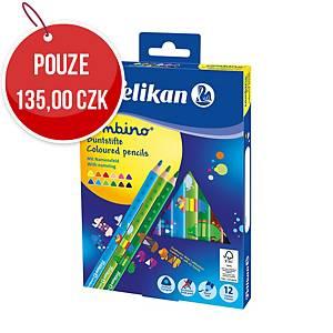 Pastelky Pelikan Combino, mix barev